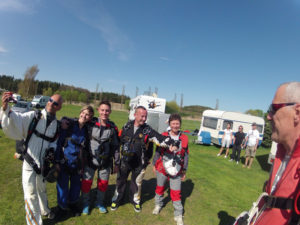 Fallschirmspringen Erlebnisbericht