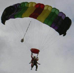 Fallschirmsprung Agnes
