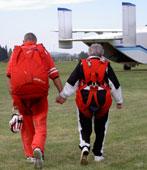 Fallschirm Tandemspringen Agnes