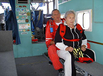 Tandemsprung Agnes 79 Jahre
