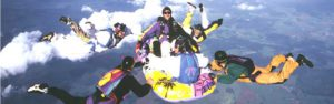 bootsprung fallschirmspringen freestyle