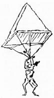 geschichte vinci fallschirmspringen