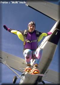 andy skysurfen fallschirmspringen