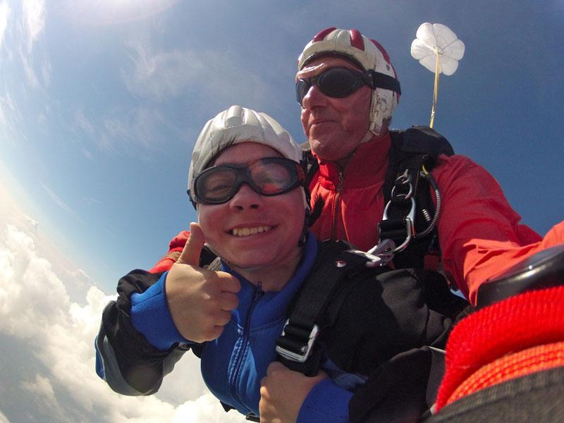 Skydive Freifall Österreich