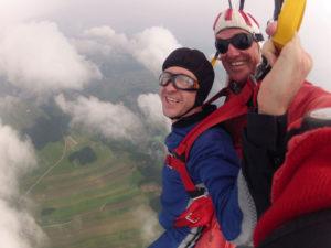 Fallschirmspringen Österreich