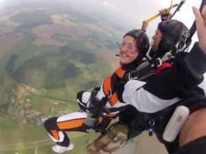 Fallschirm Tandemspringen Niederbayern