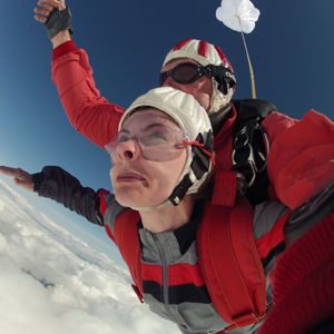 Skydive Freifall