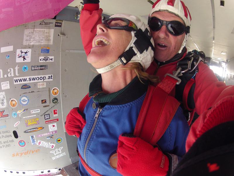 Fallschirmsprung Tandemspringen