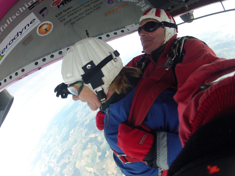 Exitposition Skydive