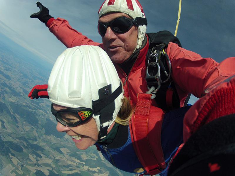 Fallschirmsprung Schweiz