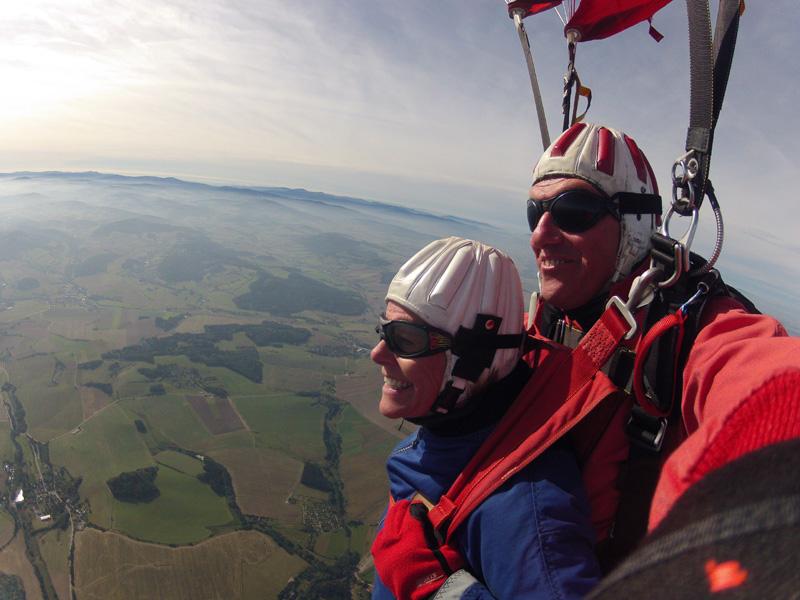 Fallschirmsprung Schirmfahrt Schweiz