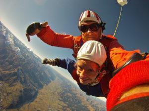 Fallschirm Freifall Zell am See