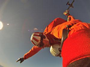 Fallschirmsprung Salto