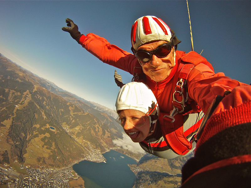 Fallschirm Tandemspringen Salzburg