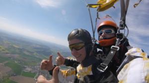 Tandemsprung Schöllnach Niederbayern 399