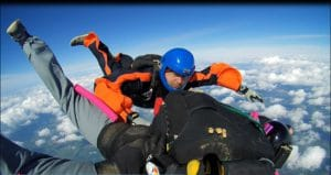 AFF Ausbildung Fallschirmspringer