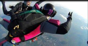 AFF Fallschirmsprung Ausbildung