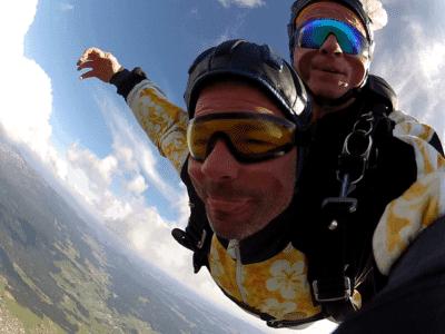Fallschirmsprung Geschenk Gutschein Tickets Tandemsprung
